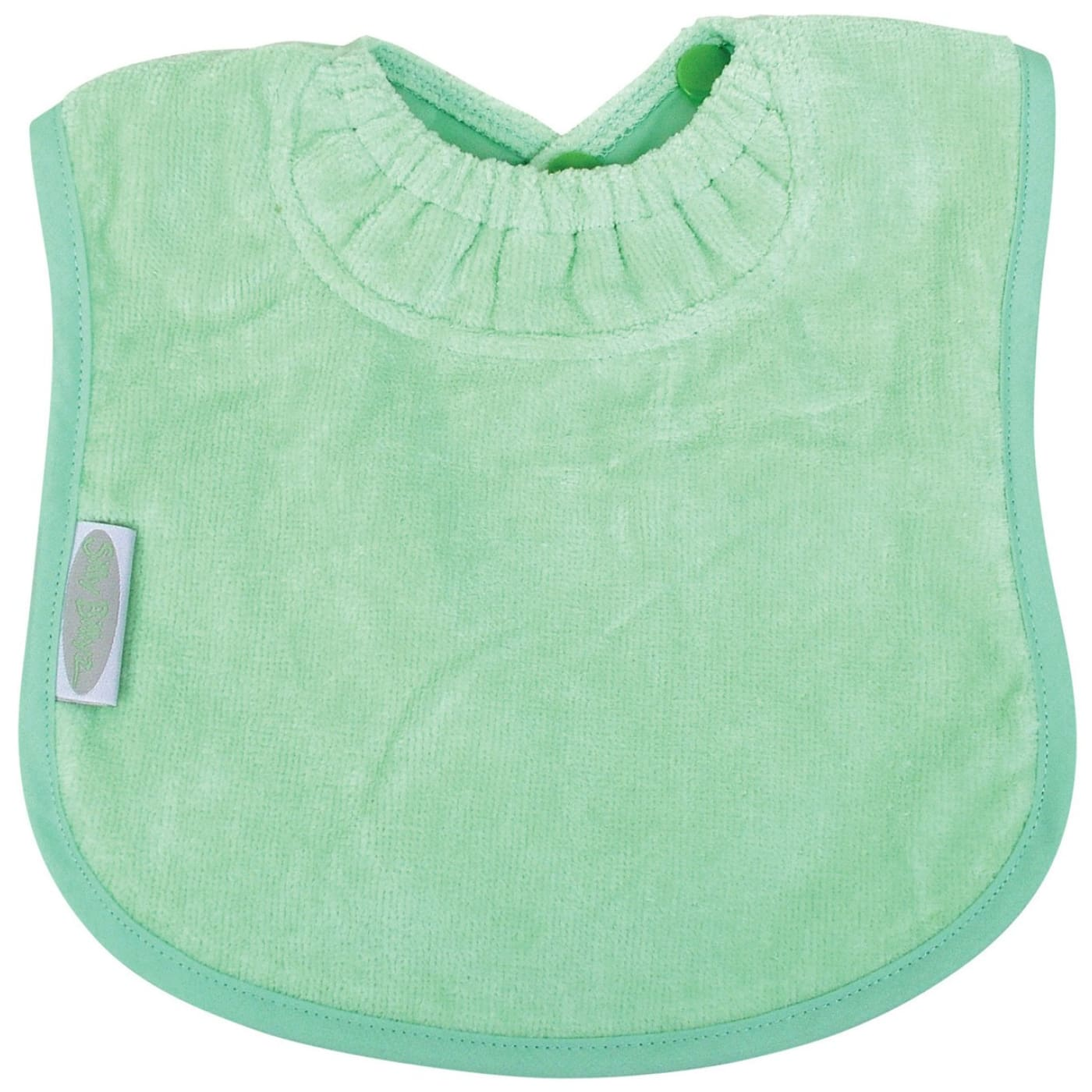 Silly Billyz Towelled Bib - Mint - NURSING & FEEDING - BIBS/BURP CLOTHS