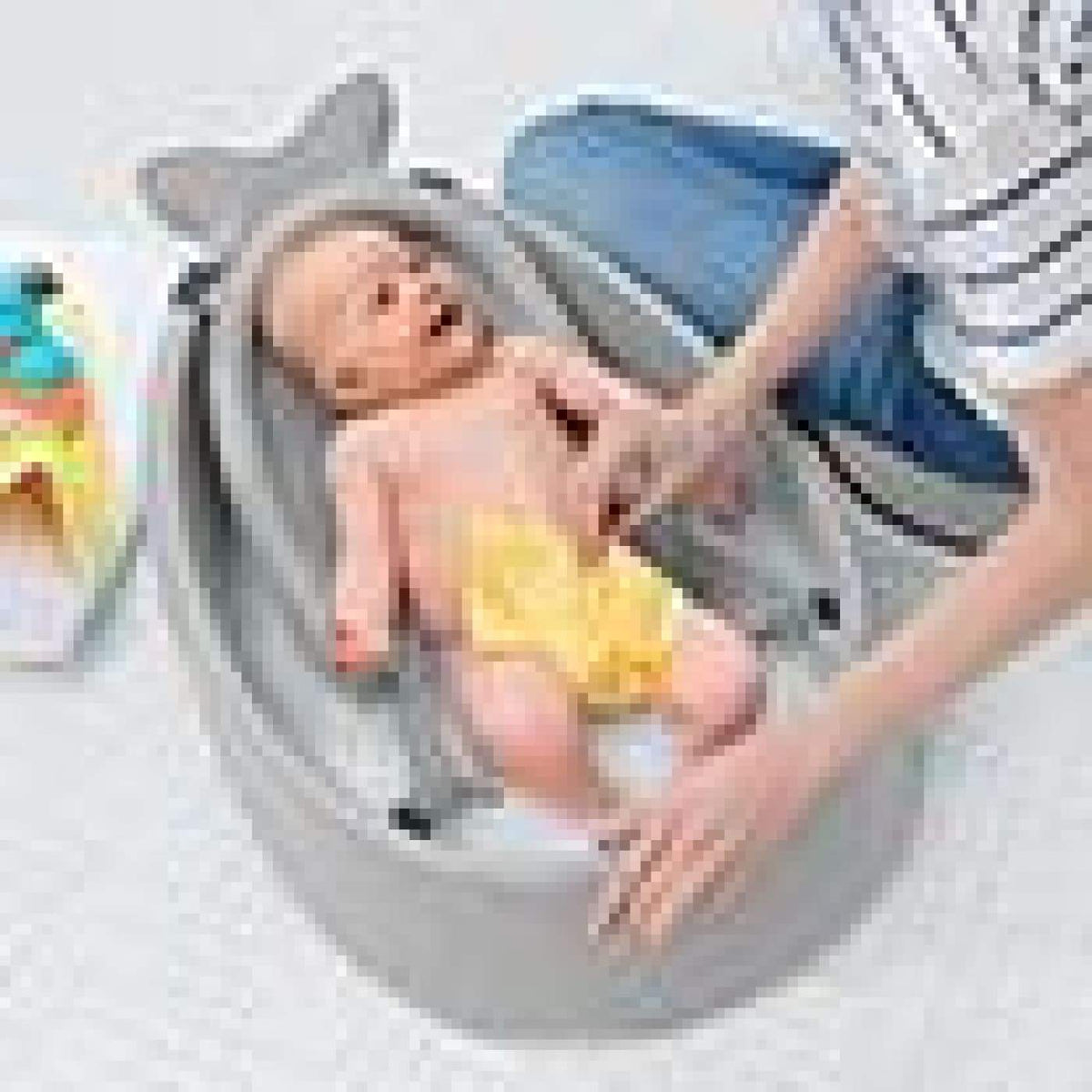 Skip Hop Moby Smart Sling 3-Stage Tub - Grey (ETA Unavailable) - BATHTIME & CHANGING - BATH/BATH STANDS