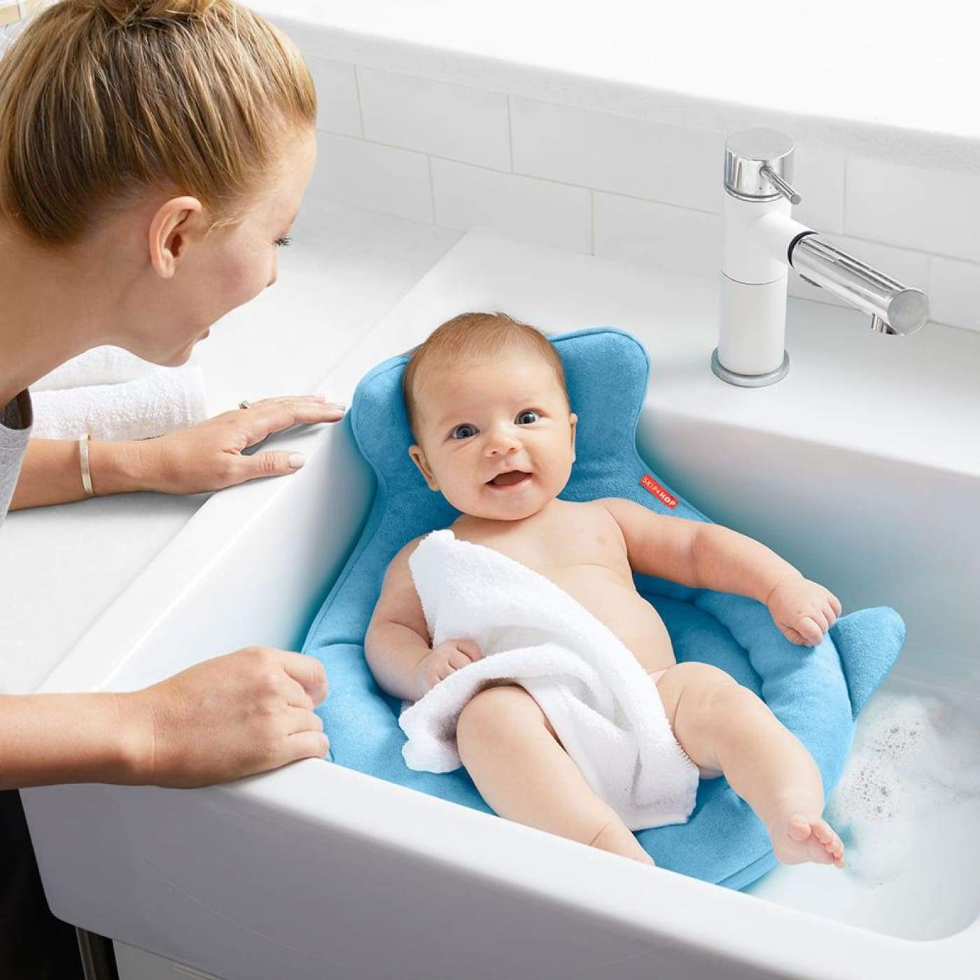 Skip Hop Moby SoftSpot Sink Bather - BATHTIME & CHANGING - BATH TOYS/AIDS