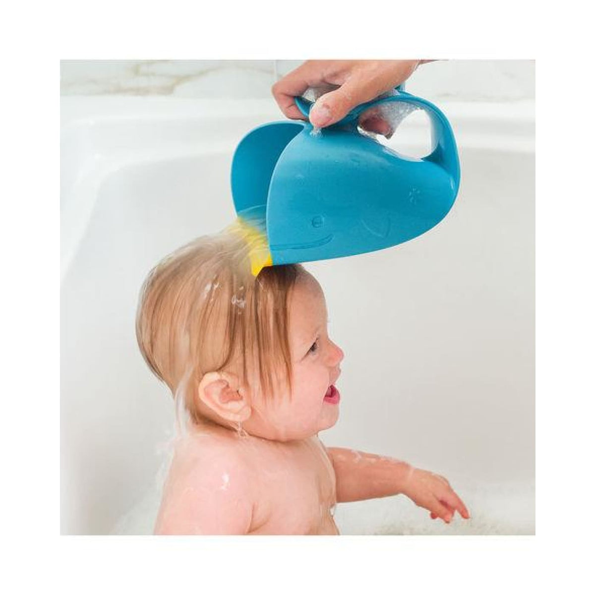 Skip Hop Moby Waterfall Rinser - Blue - BATHTIME & CHANGING - BATH TOYS/AIDS