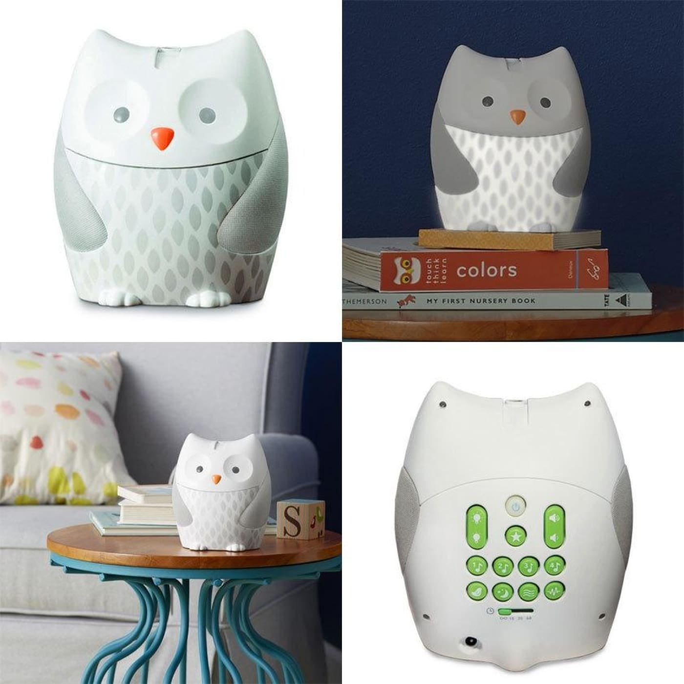 Skip Hop Moonlight /& Melodies Crib Soother and Baby Night Light Owl