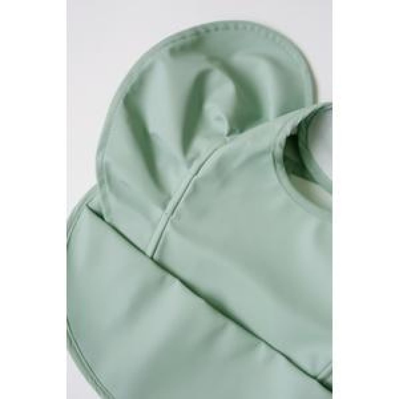 Snuggle Hunny Kids Snuggle Waterproof Bib - Sage Frill - Sage Frill - NURSING & FEEDING - BIBS/BURP CLOTHS