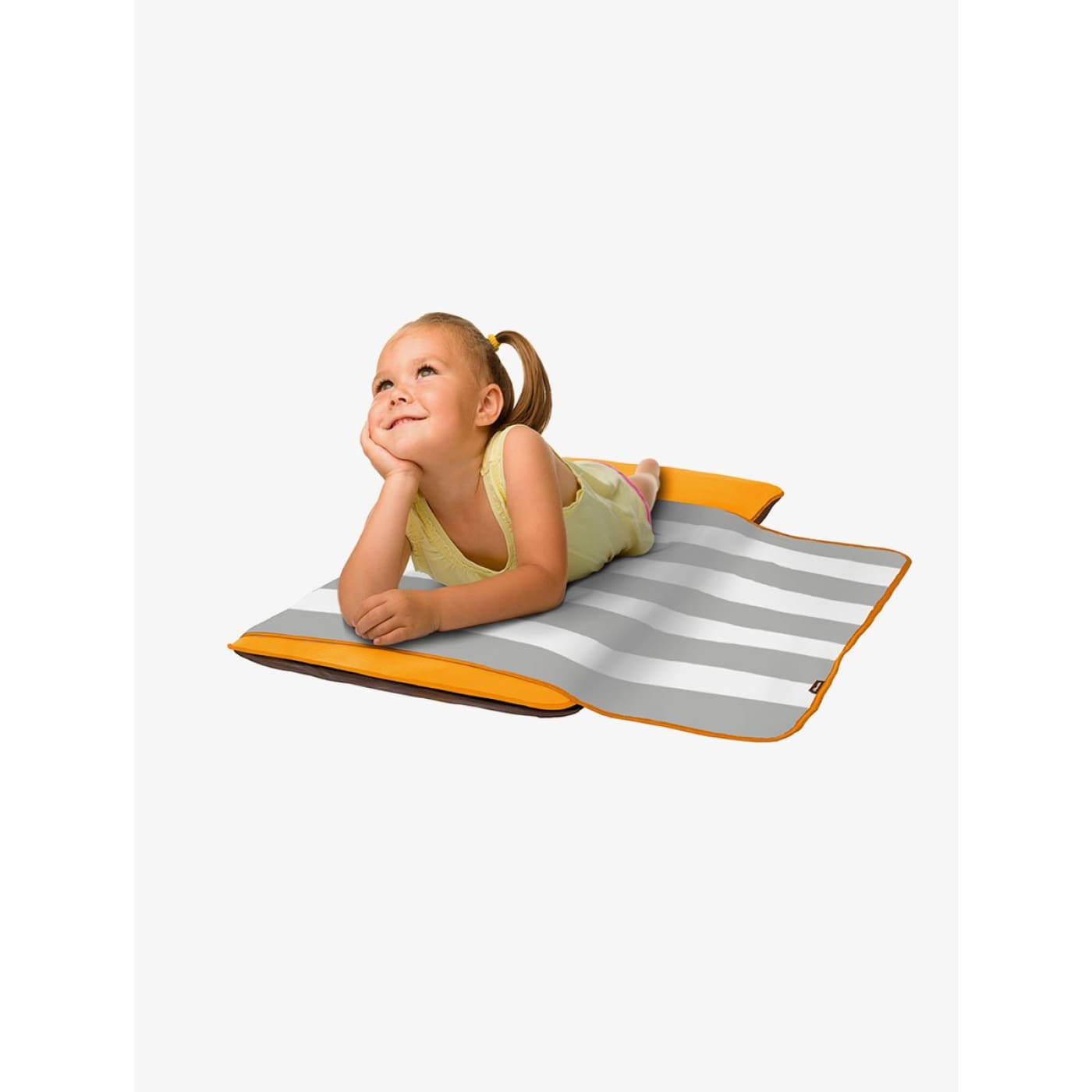 The Shrunks Toddler Siesta Nap Pad - Orange - ON THE GO - PORTACOTS/ACCESSORIES