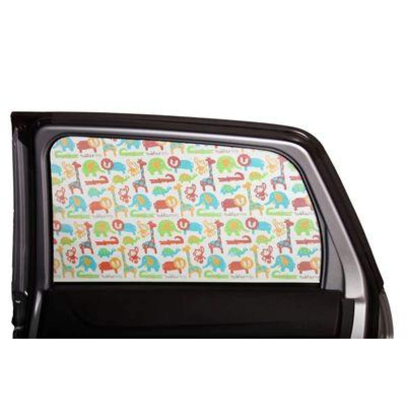 Toddler Tints - Zoo Friends - CAR SEATS - SUNSHADES/WEATHERSHIELDS