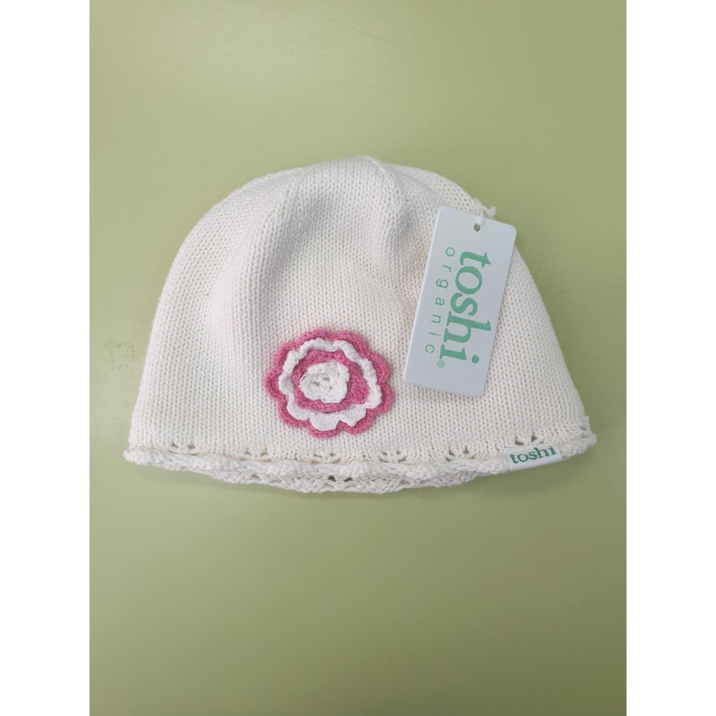 Toshi Organic Beanie - Coco Cream XS (Last One) - XS / Coco Cream - BABY & TODDLER CLOTHING - BEANIES/HATS