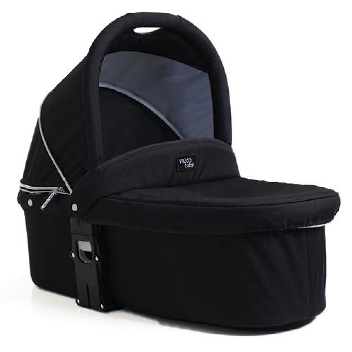 Valco Baby Q Bassinet for Snap Ultra Duo - Coal Black (ETA Unavailable) - PRAMS & STROLLERS - BASS/CARRY COTS/STANDS