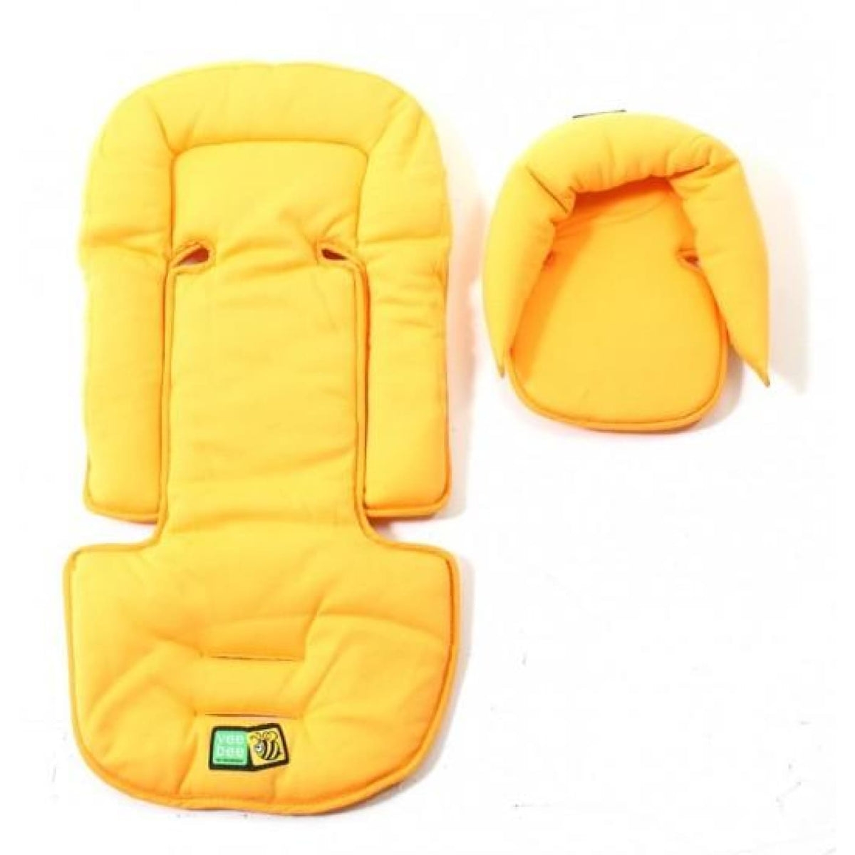 Veebee Allsorts Seat Pad & Head Hugger - Sunshine - PRAMS & STROLLERS - HEAD SUPPORTS