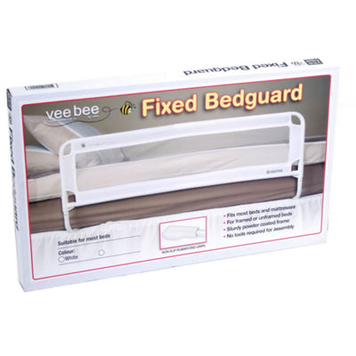 Veebee Bedguard Fixed - White - HEALTH & HOME SAFETY - BED RAILS