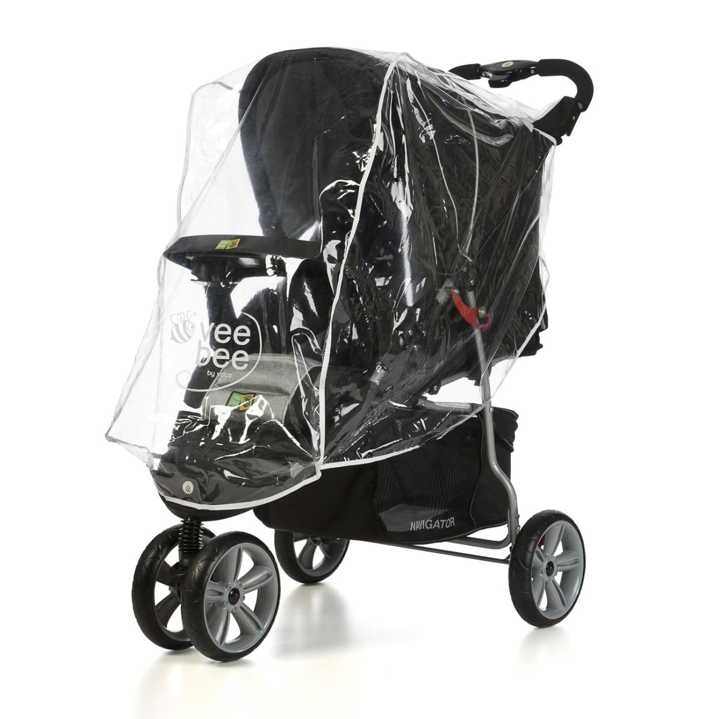 Veebee Raincover Universal 3 Wheel Raincover - PRAMS & STROLLERS - SUN COVERS/WEATHER SHIELDS