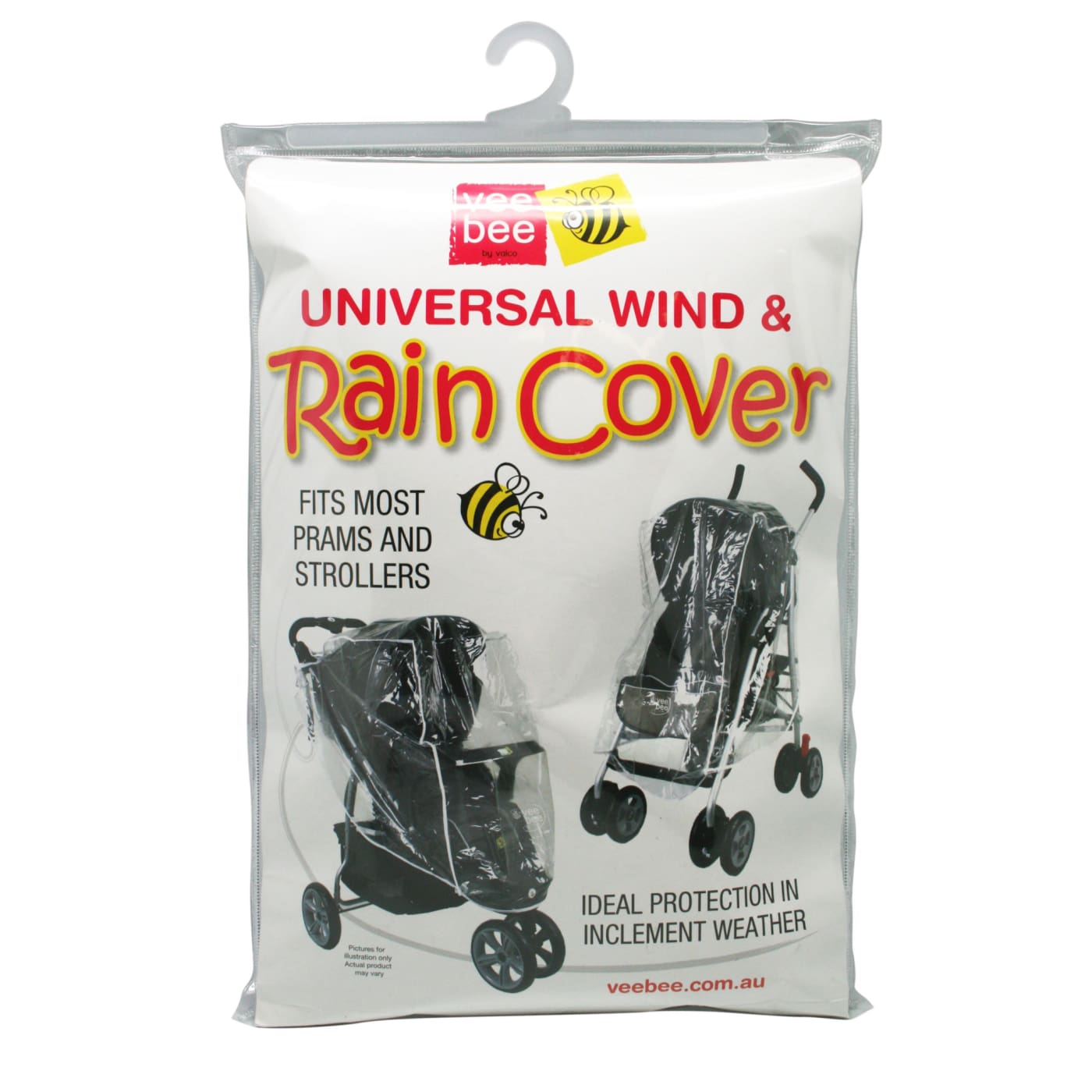 Veebee Universal Wind & Raincover - PRAMS & STROLLERS - SUN COVERS/WEATHER SHIELDS