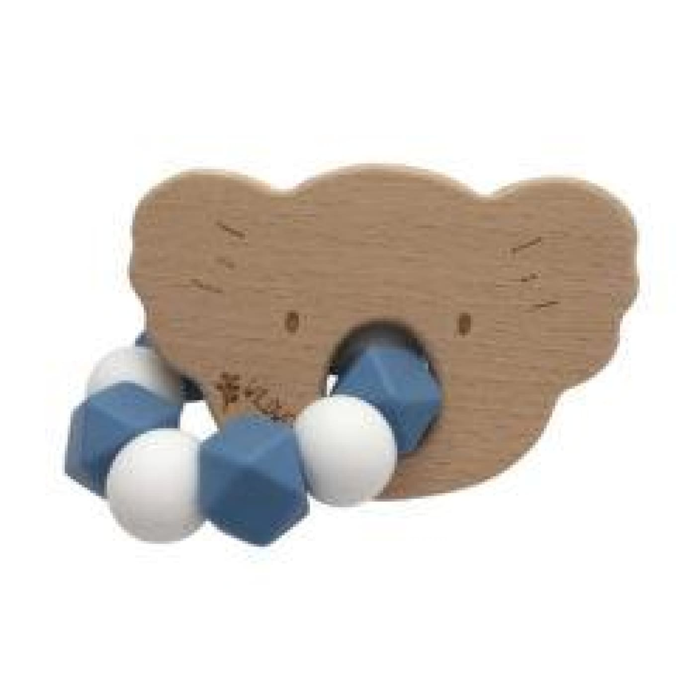 Wildwood Kids Teether - Koala Blue/White - NURSING & FEEDING - TEETHERS/TEETHING JEWELLERY
