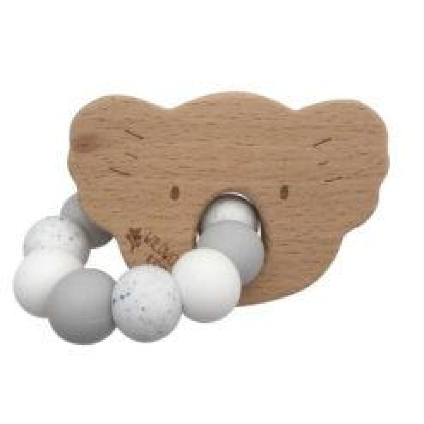 Wildwood Kids Teether - Koala Grey Mix - NURSING & FEEDING - TEETHERS/TEETHING JEWELLERY