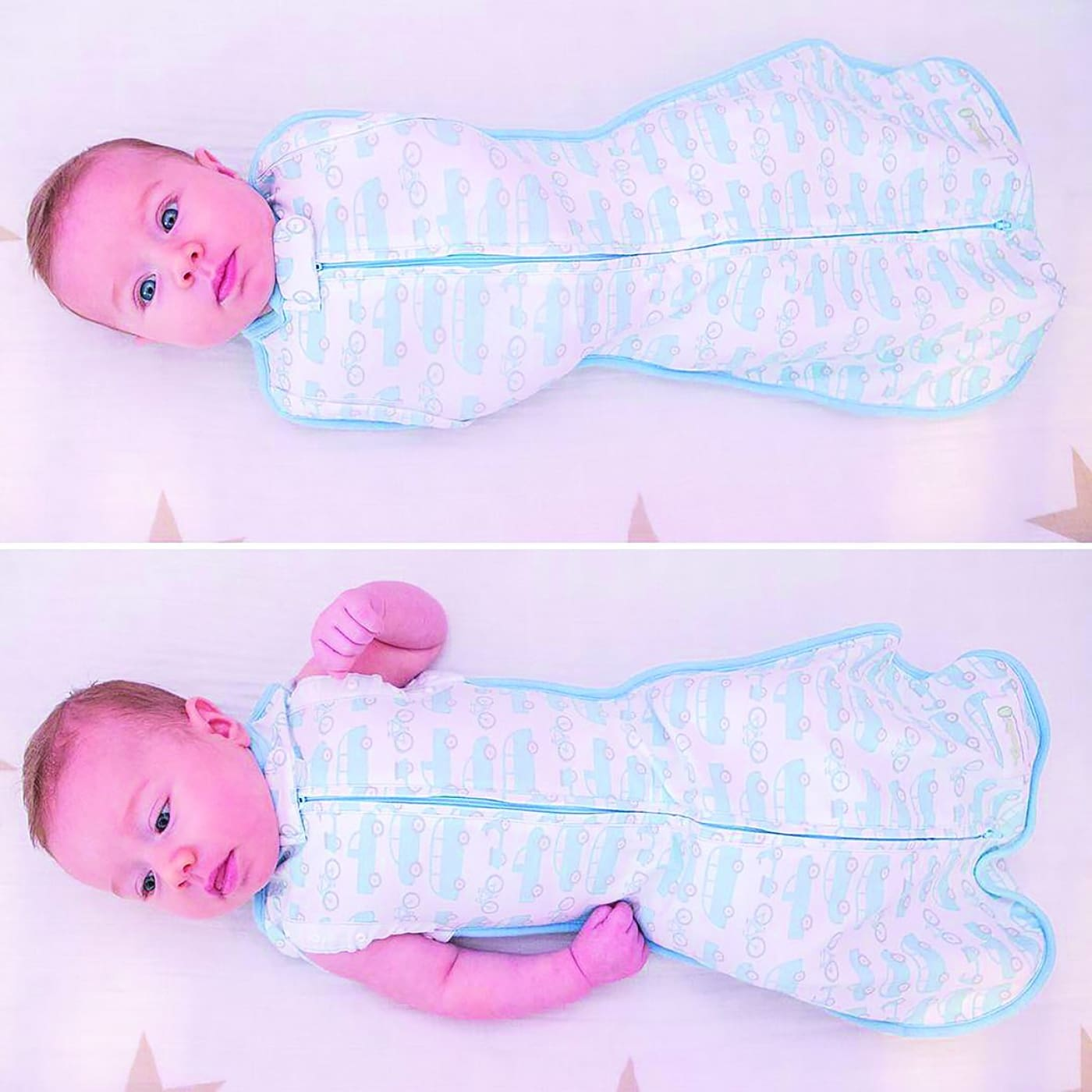 Woombie Convertible Original Beep Beep - Mega Baby - Wraps and Swaddles