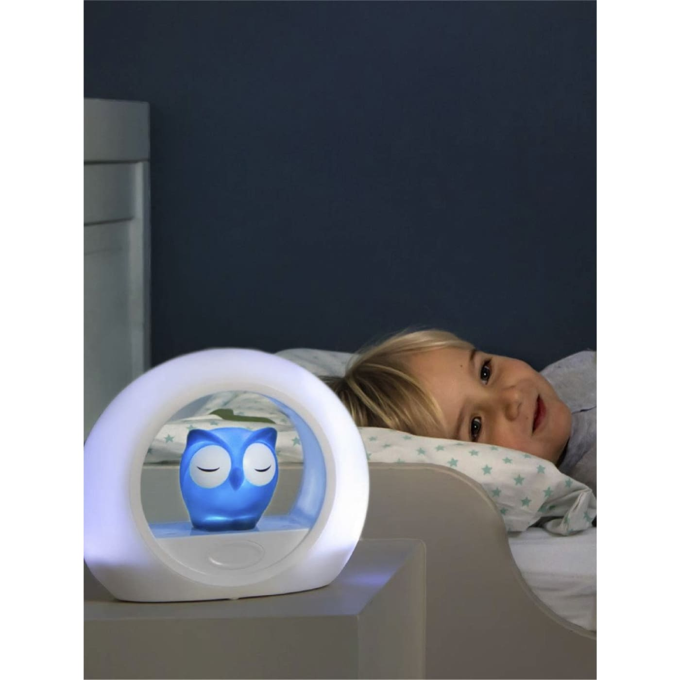 ZAZU Nightlight LOU - Blue - Blue - NURSERY & BEDTIME - SLEEP AIDS/NIGHT LIGHTS