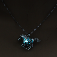 Glow in the Dark Horse Necklace