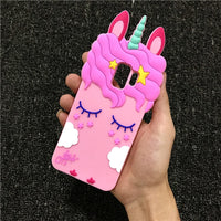 Pink Unicorn Samsung Galaxy Phone Case