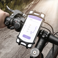 Strong Durable Silicone Bicycle Phone Holder