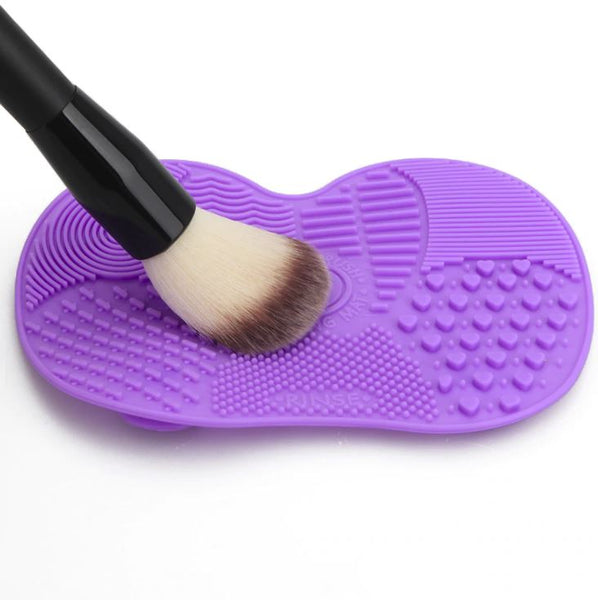 Cosmetic Brush Cleaning Mat