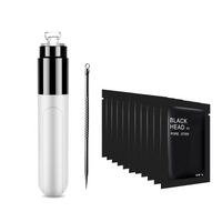 Ultimate Blackhead Kit: Blackhead Remover Vacuum + Blackhead Extractor + Charcoal Pore Strips