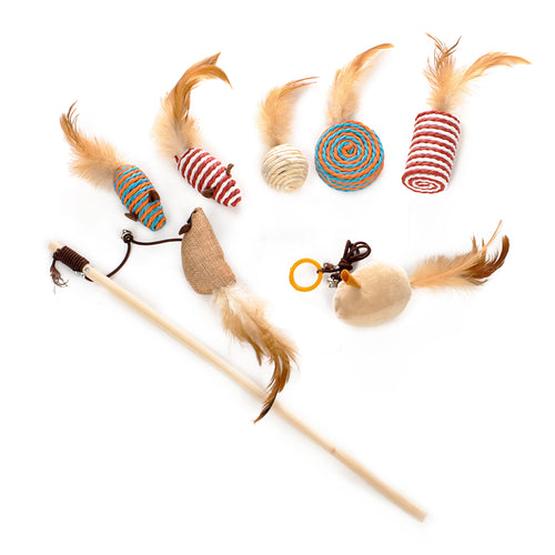 Cat Toy Selection