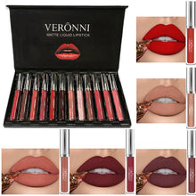 Load image into Gallery viewer, Veronni 12 LipStick Set