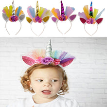 Load image into Gallery viewer, Unicorn Headband