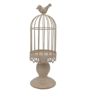 Bird Cage Candle Holder
