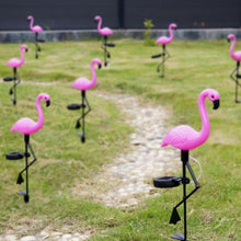 Load image into Gallery viewer, 3x Flamingo Solar Lights