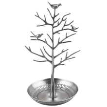 Load image into Gallery viewer, Bird/Tree jewellery stand