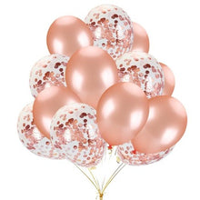 Load image into Gallery viewer, 30 PCS Rose Gold Balloons