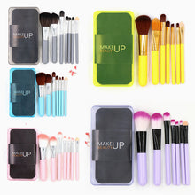 Load image into Gallery viewer, 7pcs Makeup Brush Set