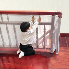 Load image into Gallery viewer, Child Safety Stair Net