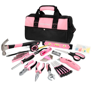 75pcs Pink Household Tools