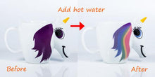 Load image into Gallery viewer, Colour Changing Unicorn Cup