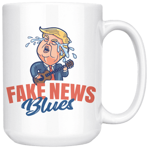 Fake News Blues 15 oz. Mug