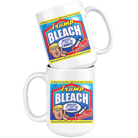 Image of Trump Bleach 15oz. Mug
