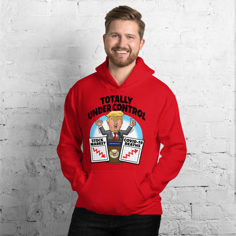 Image of Totally Under Control Unisex Hoodie
