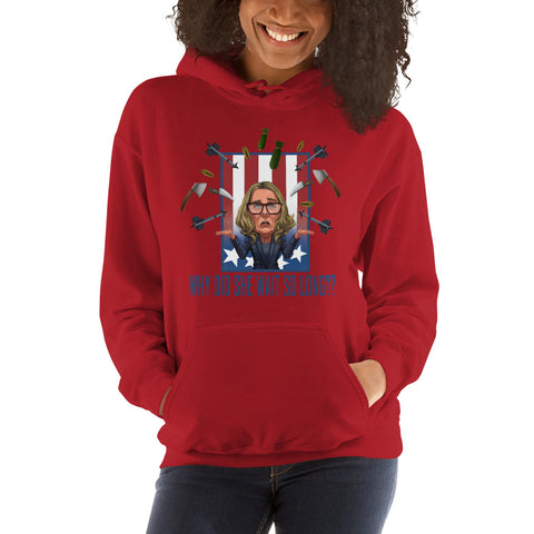 Why Did She Wait? Unisex Hoodie