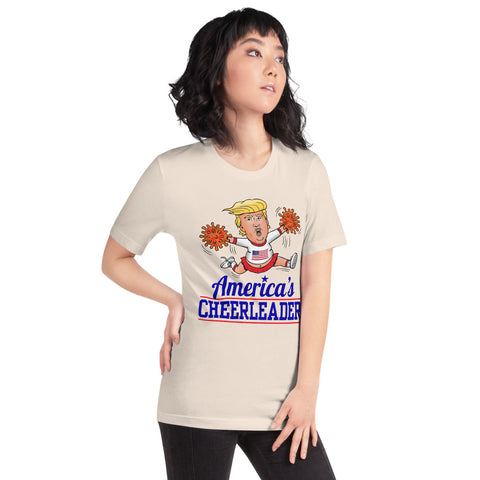 Image of America's Cheerleader Short-Sleeve Unisex T-Shirt