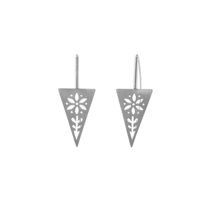 Triangle Garden Earrings