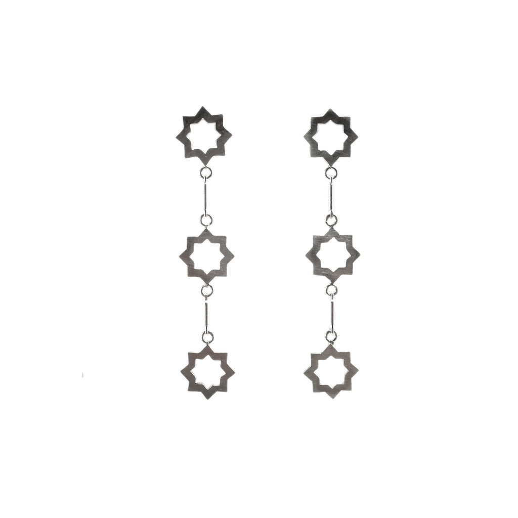 Granada Star Long Earrings