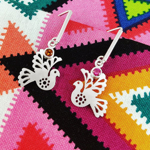 Paloma Little Birdies Earrings with Gem