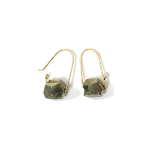 Pyrite ~ Carry-On Hoop Earrings