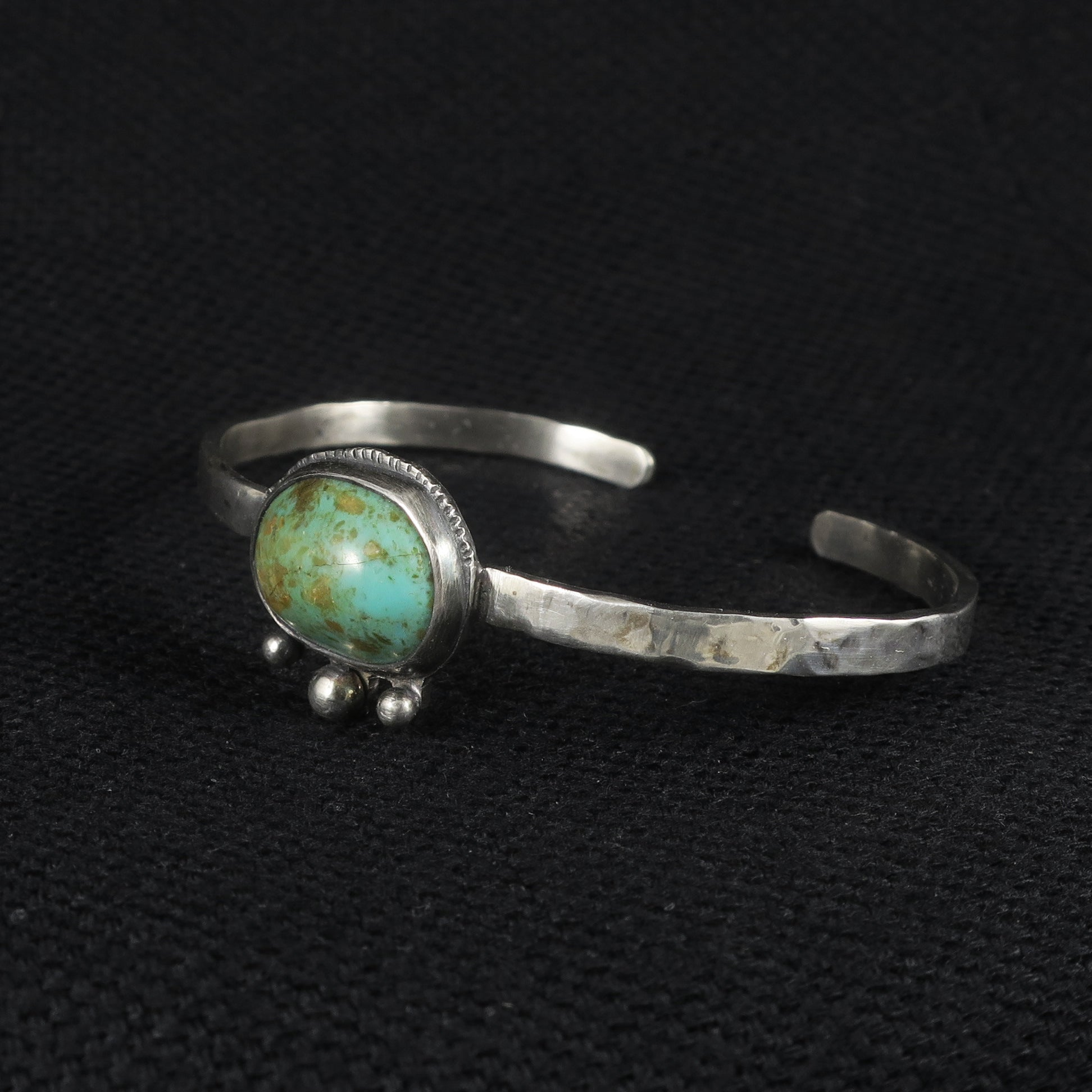 unEarthed cuff with turquoise
