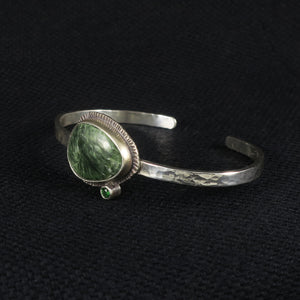 unEarthed cuff with seraphinite