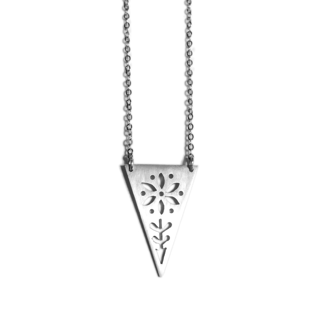 Triangle Garden Necklace