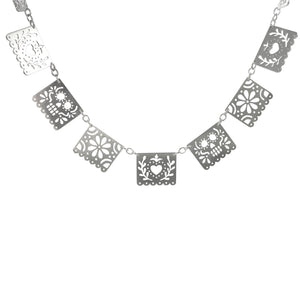 Grand Papel Picado Necklace