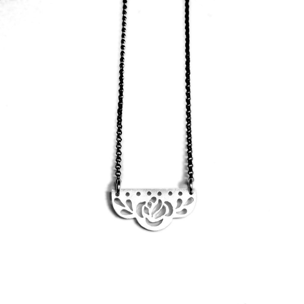 Rosa Station Necklace