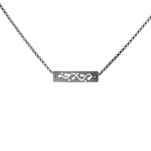 Vine Bar Station Necklace