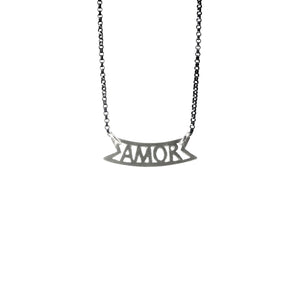 Amor Station Necklace